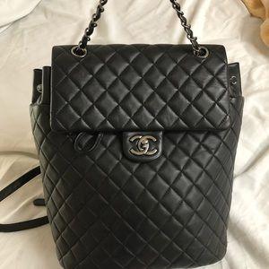 3bddbe4cc8f9 Chanel Urban Spirit Large Backpack Ruthenium HW